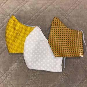 3 Face Mask Bundle Fitted 100% Cotton